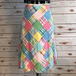 Brooks Brothers 346 Patchwork Skirt